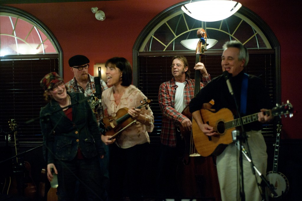 "Blugrass Jam in Cranbrook with ""Sheva"" (photo credit Rod Wilson)"