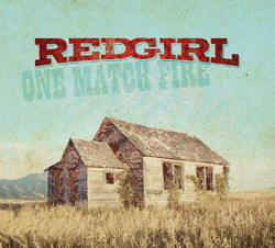 redgirl one match fire album cover